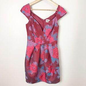 ASOS | Floral Brocade Sweetheart Cocktail Dress 6